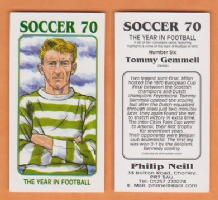Glasgow Celtic Tommy Gemmell Scotland 6